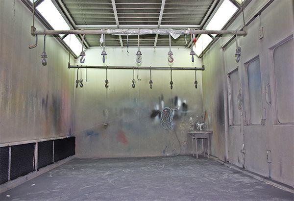 Cabinas de pintura