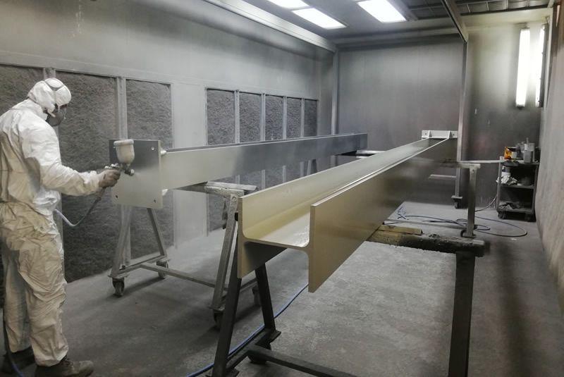 Cabines de pintura